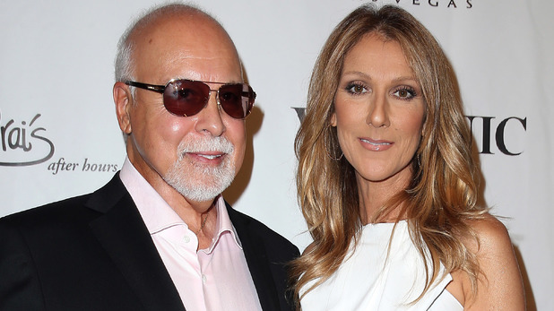Celine Dion and Rene Angelil attend 'Veronic Voices' Media Night and Red Carpet at Jubilee Theater at Bally's Las Vegas.