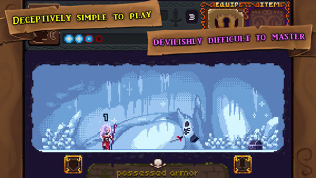 'Deep Dungeons of Doom' iOS screenshot