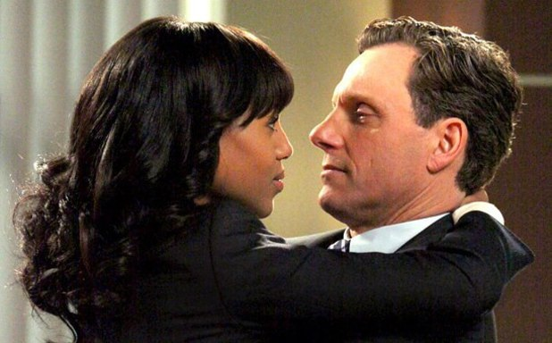 Olivia and Fitz in 'Scandal'