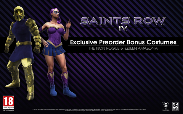 'Saints Row 4' pre-order bonus revealed
