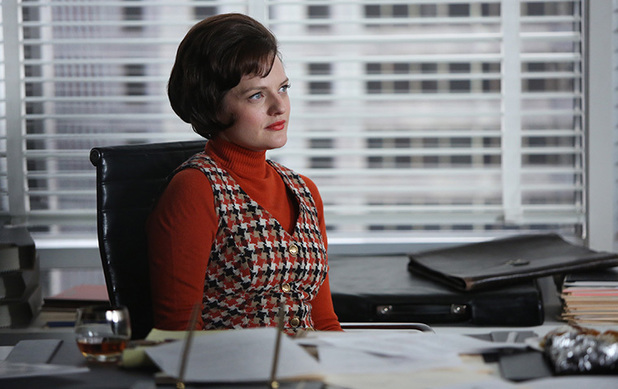 Mad Men S06E13: Peggy Olson (Elisabeth Moss)