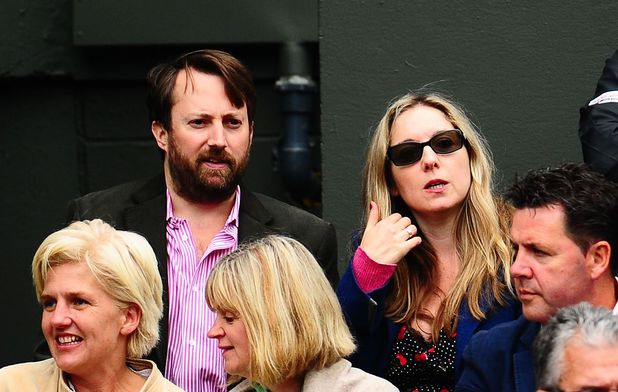 David Mitchell and Victoria Coren