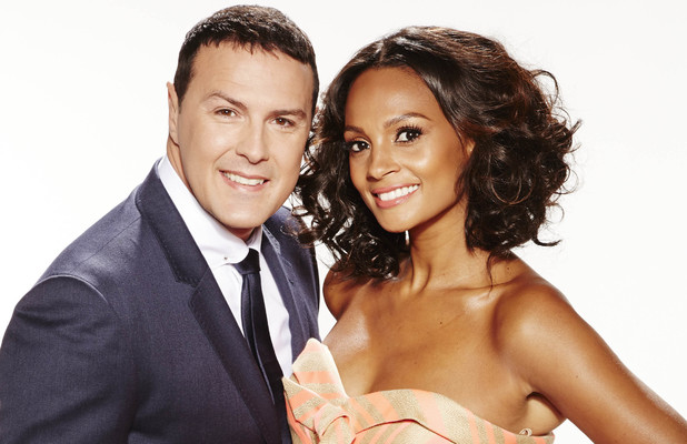 'Your Face Sounds Familiar' hosts Alesha Dixon & Paddy McGuinness