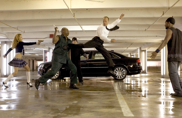 Jason Statham in 'The Transporter 2'