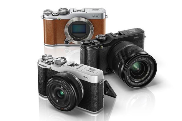 Fujifilm's X-M1 compact camera