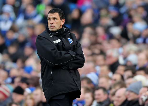 Former Brighton & Hove Albion manager Gus Poyet