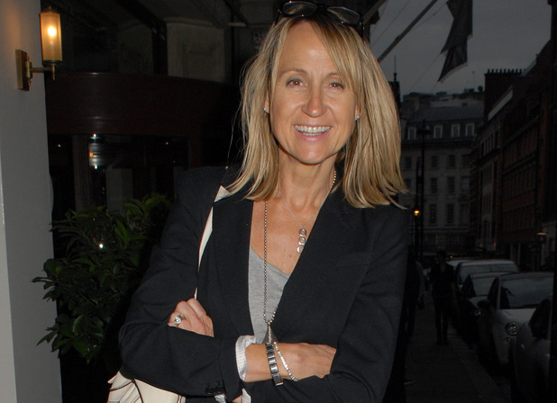 Carol McGiffin attends the 'Loose Women' wrap party at Sanctum Soho Hotel