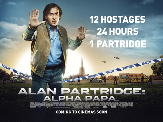Alan Partridge: Alpha Papa poster