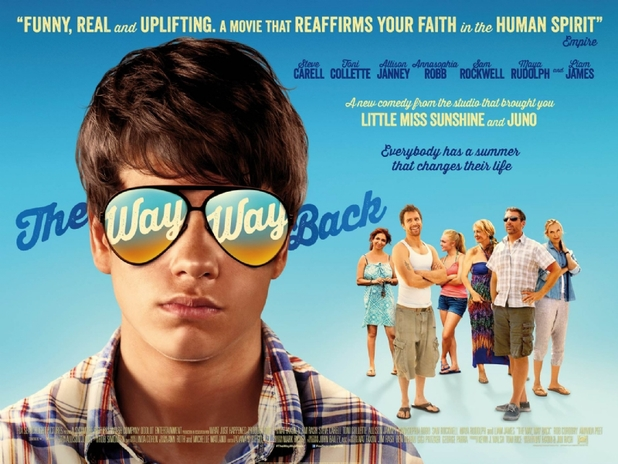 Sam Rockwell in 'The Way, Way Back' poster