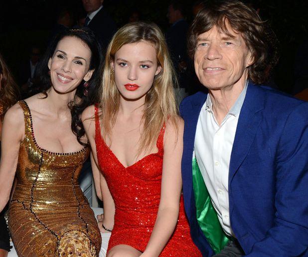 Jade Jagger, L'Wren Scott, Georgia May Jagger and Mick Jagger, Serpentine Summer Party, Hyde Park, London
