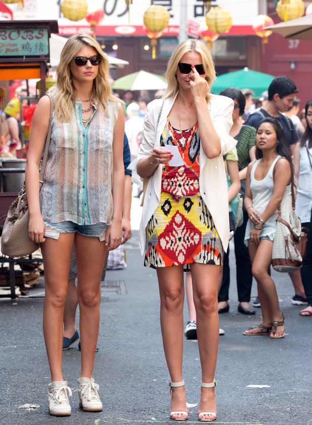 Kate Upton, Cameron Diaz, The Other Woman, New York