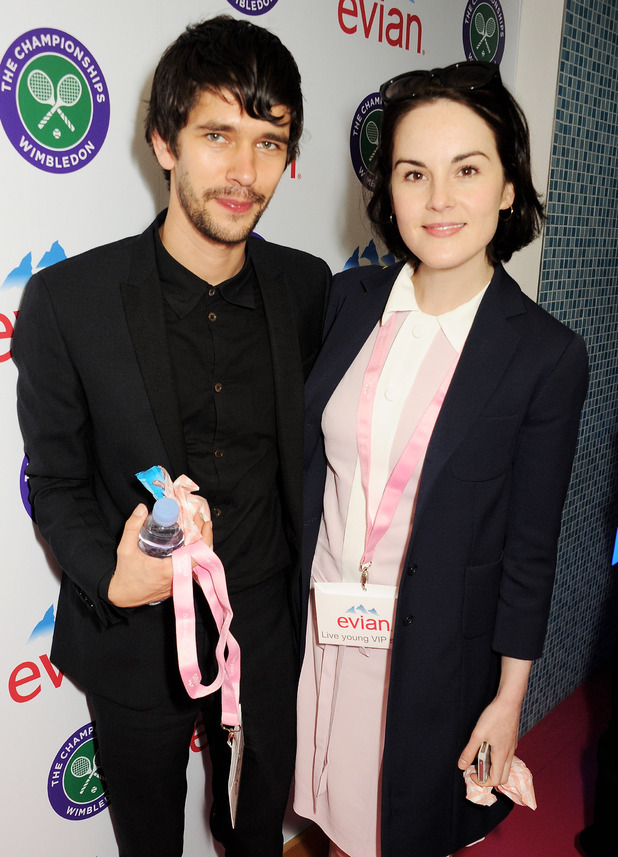Ben Whishaw and Michelle Dockery