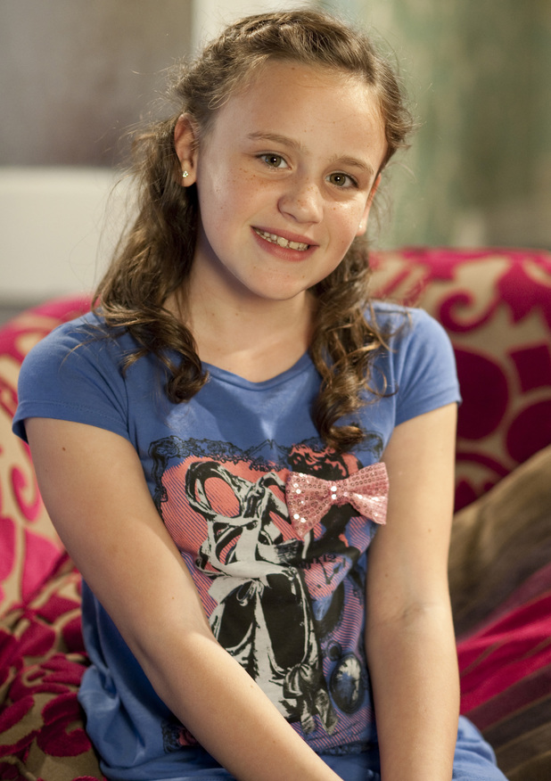 Ellie Leach as Faye Windass on Coronation Street