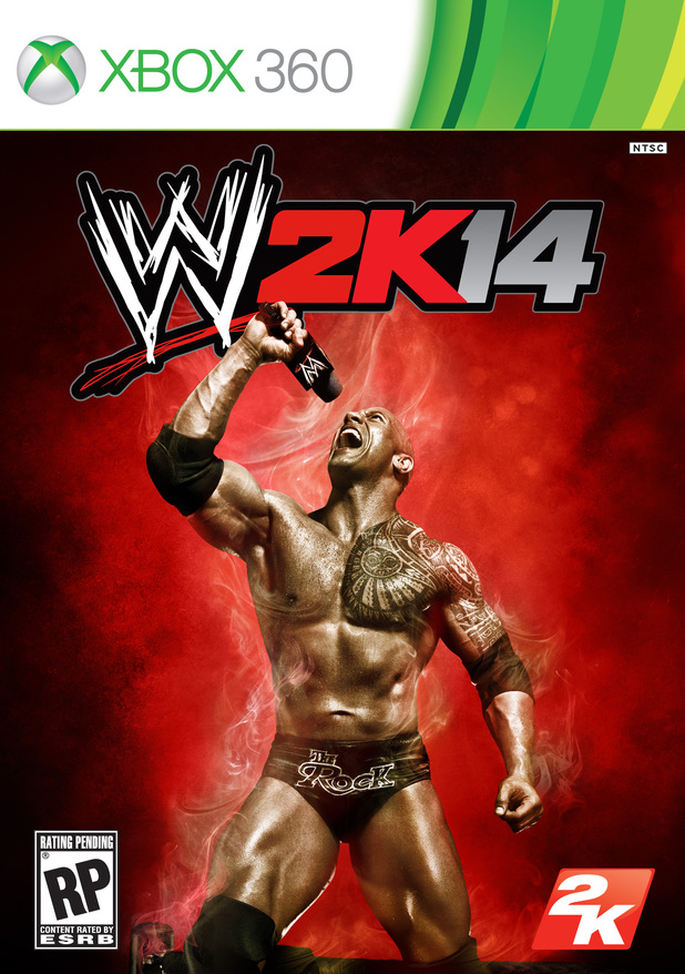 'WWE 2K14' cover artwork