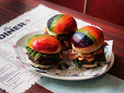 The Diner in London is supporting Gay Pride 2013 with sales from the bread.