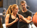 Theo James, Maggie Q, Zoë Kravitz also appear in new images from dystopian drama.