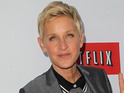 DeGeneres says the film is based on her learning to walk in a dress and heels.
