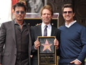 Hollywood director Jerry Bruckheimer receives a star on the Hollywood Walk of Fame.