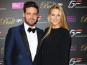 The star was pictured with Stephanie Pratt at annual British Grand Prix Ball.