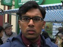 Tamwar clashes with Kim Fox in his new online mini-series.