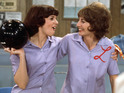 Cindy Williams and Penny Marshall are reunited for first time in three decades.