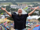 Michael Eavis claims the three headliners don't include Prince.