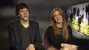 Jesse Eisenberg and Isla Fisher on magic caper 'Now You See Me'