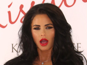 Katie Price launches her new fragrance 'Kissable' at The Worx Studio - Photocall