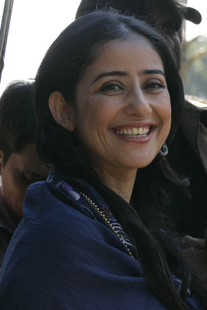 Manisha Koirala (left) with Juhi Chawla