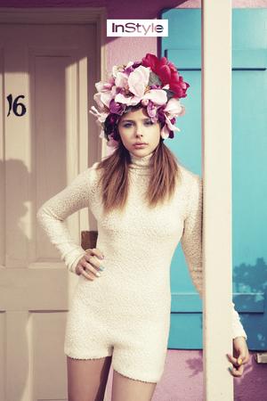 Chloe Moretz InStyle magazine shoot.