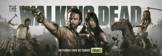 'The Walking Dead' Comic Con 2013 banner.