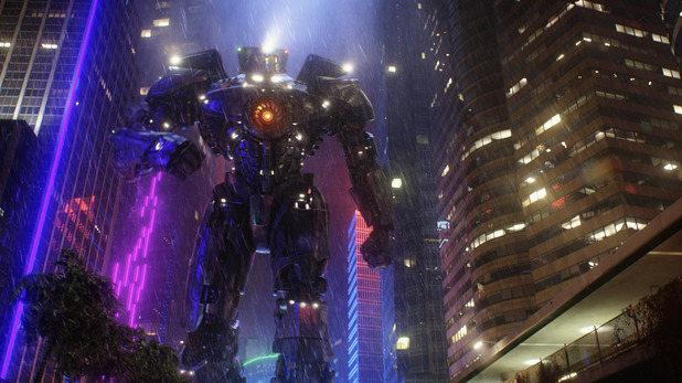 Gipsy Danger Jaeger in Pacific Rim