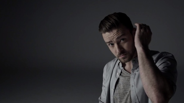 Justin Timberlake in 'Tunnel Vision' music video