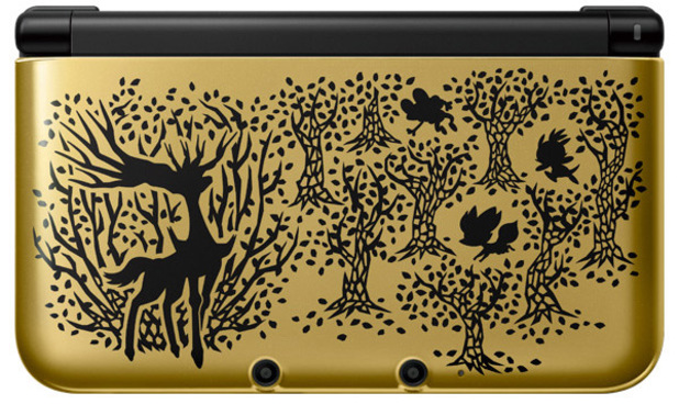 Pokemon X and Y themed Nintendo 3DS XL