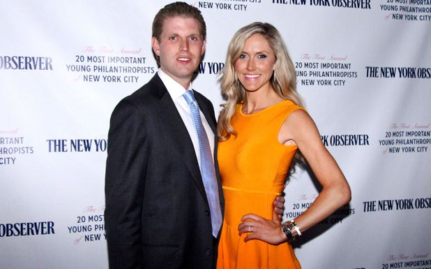 Eric Trump and Lara Yunaska