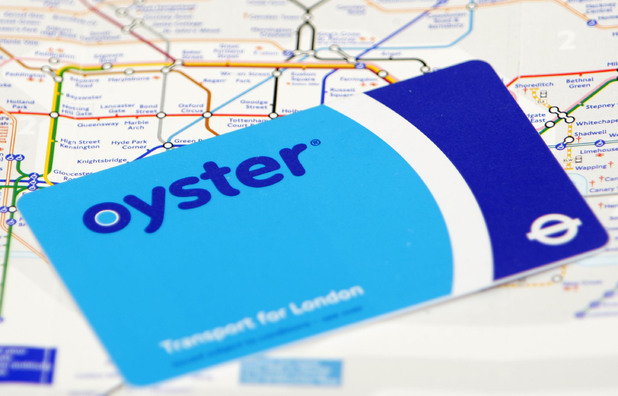 An Oyster card