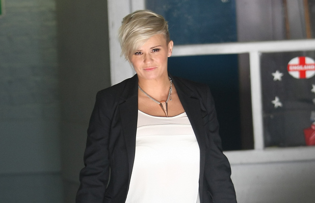 Kerry Katona at ITV Studios ~~ February 4, 2013