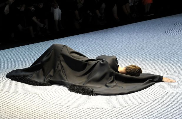 Viktor and Rolf show, Haute Couture Fall Winter 2013, Paris Fashion Week