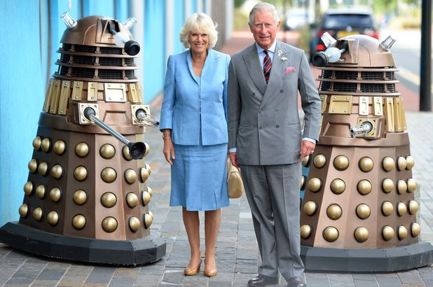 Prince Charles and Camilla visit 'Dr Who'
