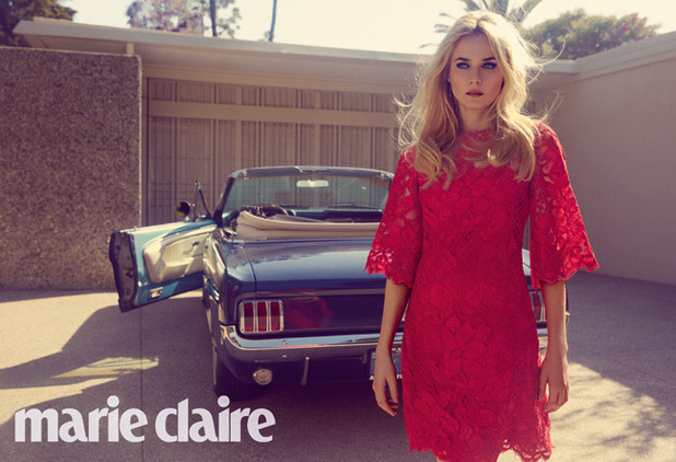 Diane Kruger photo shoot for Marie Claire magazine