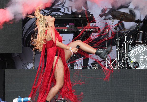 Rita Ora, Glastonbury 2013