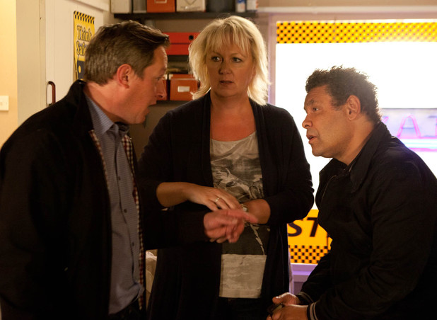 Eileen begs Paul to swallow his pride and apologise to Lloyd.