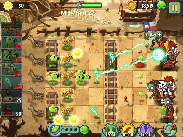 Plants Vs Zombies 2 Wild West