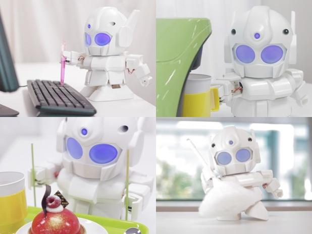Raspberry Pi-powered robot Rapiro