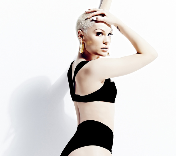 Jessie J in the video for 'Wild'