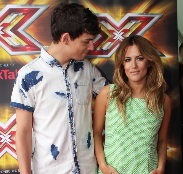 Caroline Flack, Matt Richardson, X Factor auditions Cardiff