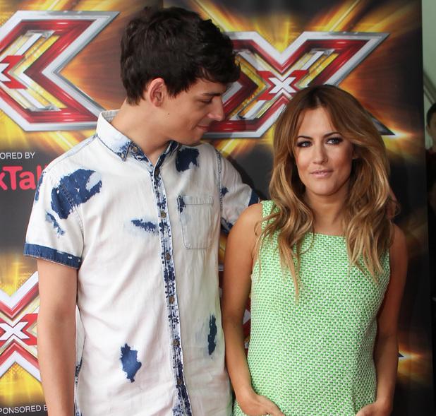 Caroline Flack, Matt Richardson, X Factor auditions Cardiff