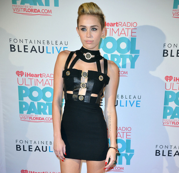 Miley Cyrus, iHeartRadio Ultimate Pool Party, Miami Beach
