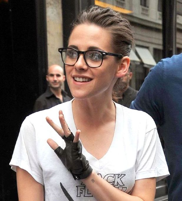 Kristen Stewart leaving 'Le Costes' restaurant after lunch