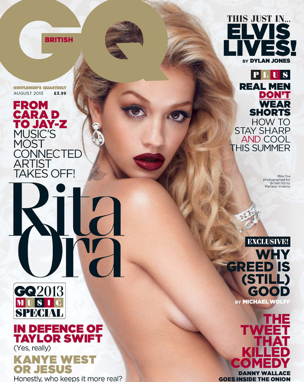 Rita Ora, GQ cover